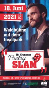 18. Poetry Slam @ Waldbühne auf dem LAGA-Gelände (neben der Pyramide) | Gronau (Westfalen) | Nordrhein-Westfalen | Deutschland