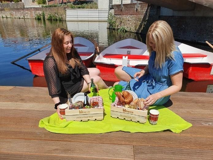 © Kulturbüro, Picknicken an den Ruderbooten