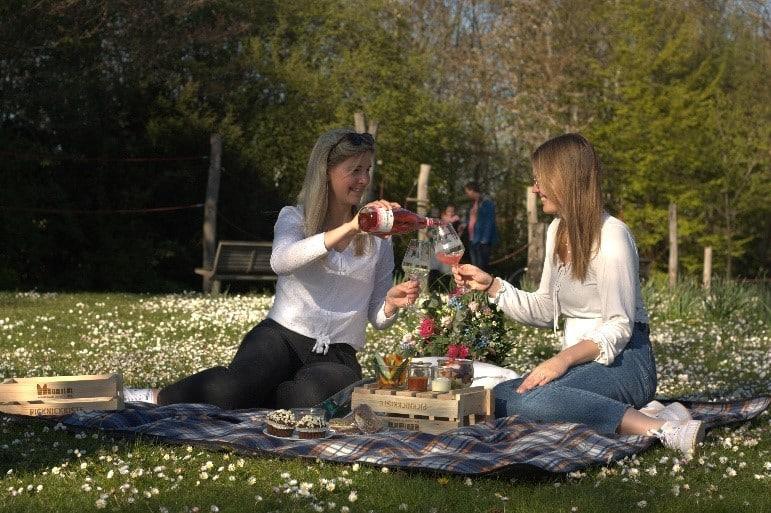© Kulturbüro, Picknicken auf dem Inselparkgelände
