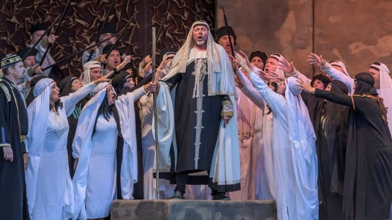 Festspieloper Prag NABUCCO Jurij Kruglov als Zaccharias